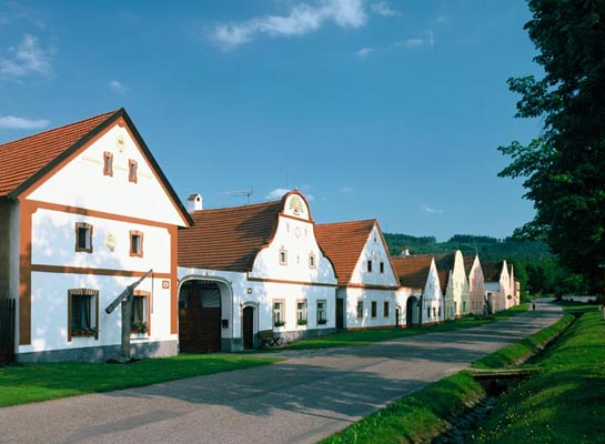 UNESCO, The village of Holasovice, South Bohemia, Tschechien