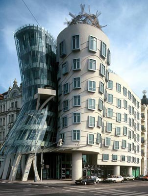 The Dancing House, Prague, Tschechien