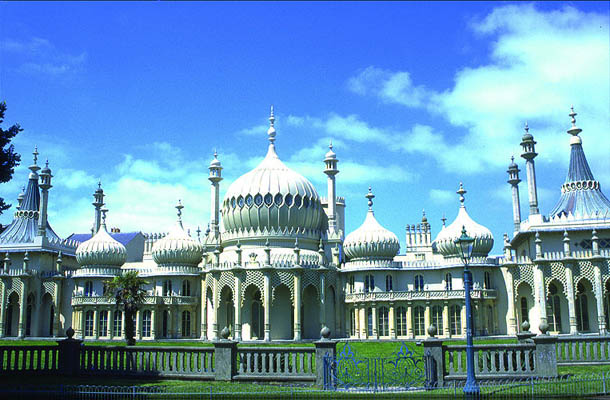 Brighton, East Sussex, Royal Pavillion, England