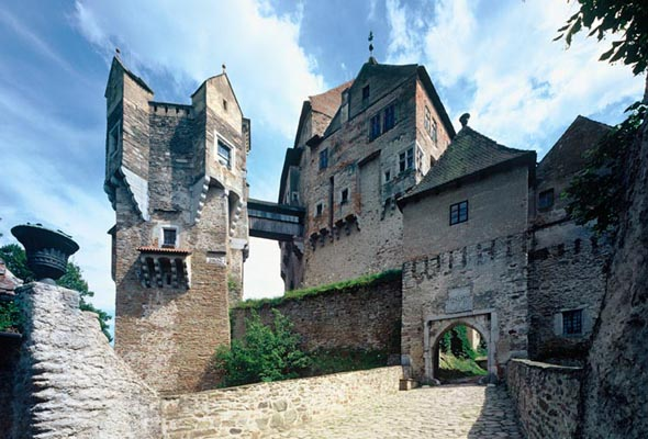 Pemstein Castle, The Bohemian-Moravian Highlands, Tschechien