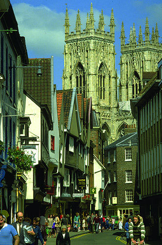 York, North Yorkshire - Altstadt, England