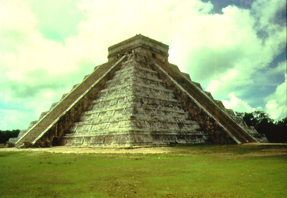 Pyramide in Chichen Itzá, Mexiko