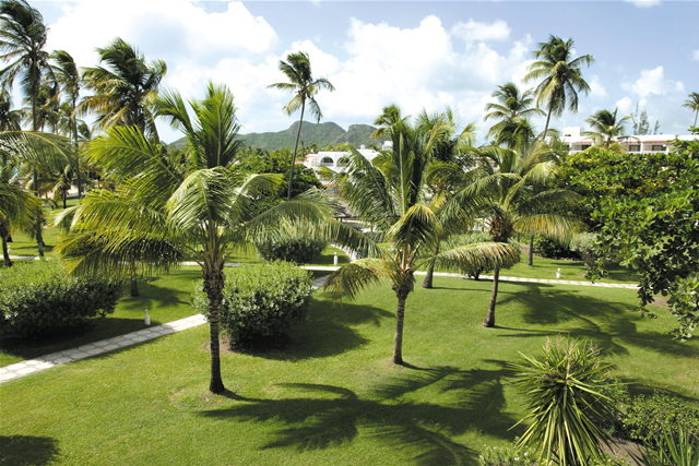 Gärten am Jolly Beach Resort - Gardens at Jolly Beach Resort, Antigua & Barbuda