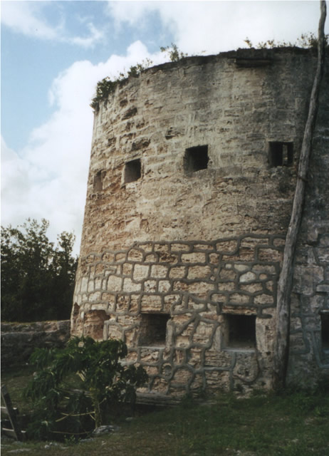 Barbuda - Martello Tower, Antigua & Barbuda
