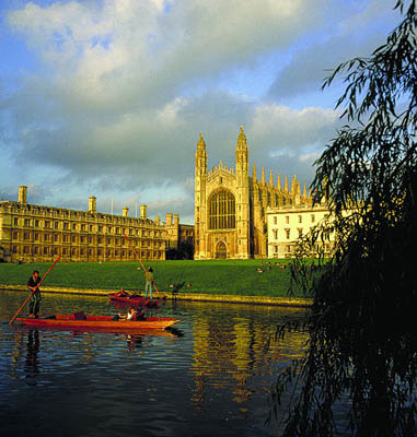 Cambridge, Kings College, England