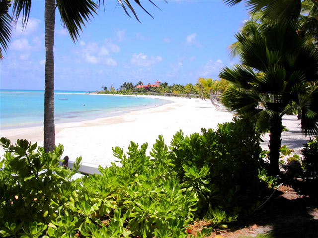 Another view on Jumby Bay, Antigua & Barbuda