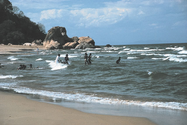 Senga Bay - Badeort am Lake Malawi