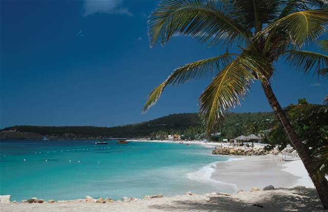 Strand auf Antigua - Antiguan beach, Antigua & Barbuda
